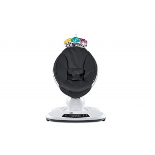 4moms mamaRoo 4 Baby Swing, high-tech Baby Rocker, Bluetooth Enabled  Classic Nylon Fabric with 5 Unique motions