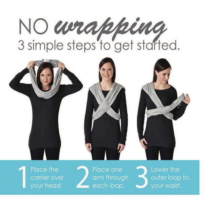 Baby K'tan Active Baby Wrap Carrier, Infant and Child Sling - Simple Wrap Holder for Babywearing - No Rings or Buckles - Carry Newborn up to 35 Pound, White, Small (W 6-8 / Men's Jacket 37-38)