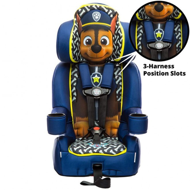 KidsEmbrace 2-in-1 Harness Booster Car Seat, Nickelodeon Paw Patrol Chase