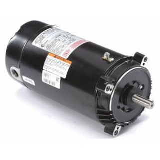 21st Century A.o. Smith SK1072 Century 3/4 HP Pool and Spa Pump Motor, Capacitor-Start, 115/230V, 56C Frame Black   SK1072
