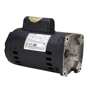 A. O. Smith The Pool Supply Shop 0.75 HP Square Flange Up-Rated Pool Pump Motor, 1.25 SF