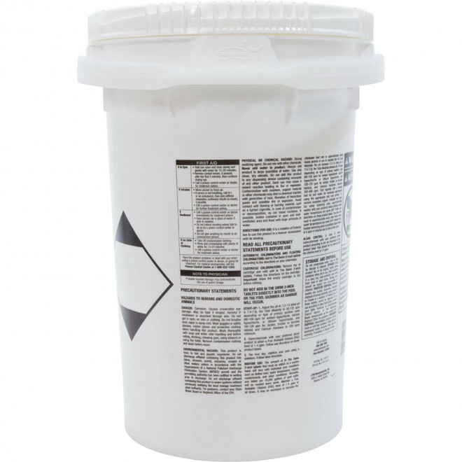In the Swim 3 inch Chlorine Tablet Bucket - 50 Pound